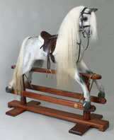 dapple rocking horse